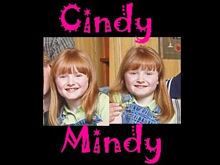 Cindy and Mindy, a pair of demons